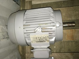 Toshiba Premium Efficiency 5 HP Motor
