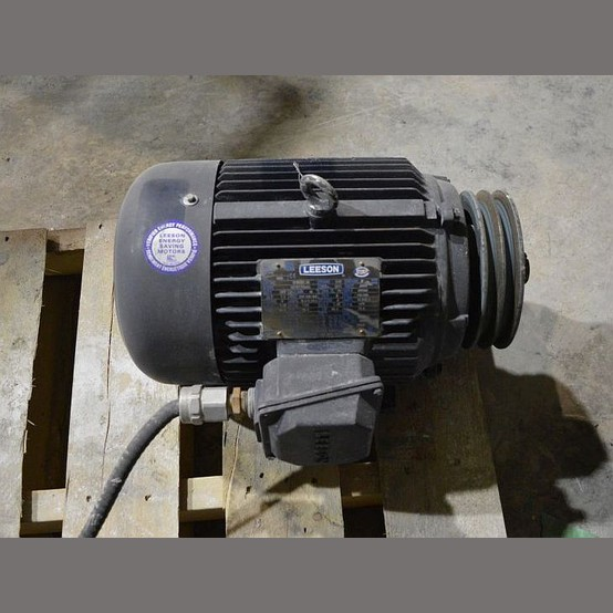 Leeson Electric Motor Supplier Worldwide Used Leeson 7 5