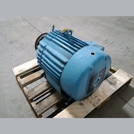 Used 50 hp 230 460v electric motor for sale electric for Surplus electric motors for sale