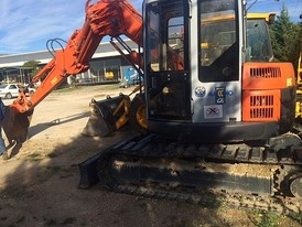 Hitachi ZX75US-3 Mini Excavator