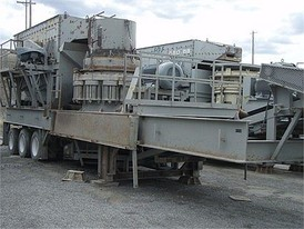 Symons 4.25 ft Cone Crushing Plant