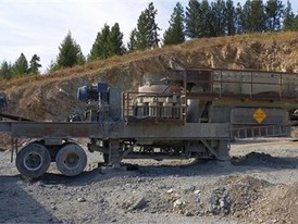 Symons 4.25 ft. Cone Crushing Plant