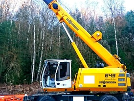 Sennebogen 643 Mobile Telescopic Crane