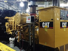 CAT 1250 kW Stationary Engine Generator Assembly