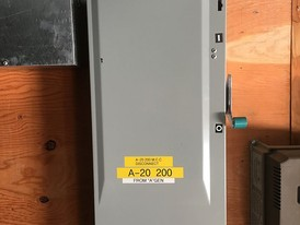 Siemens 200 Amp 600 Volt Fusible Disconnect