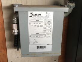 Hammond 6 kVA Wall Mount Transformer