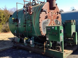 Johnston 200 HP Firetube Boiler