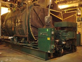 Johnston 1500 HP Firetube Boiler
