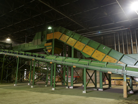 Construction & Demolition Waste Recycling & Sorting System