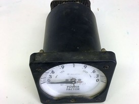 Westinghouse Power Factor Analog Meter