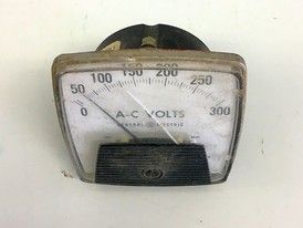 General Electric Analog Voltmeter