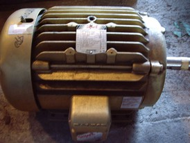 Baldor-Reliance Super-E 15 HP Motor