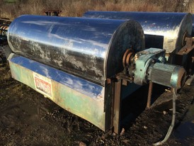 Dings 36 x 96 Wet Drum Magnetic Separator
