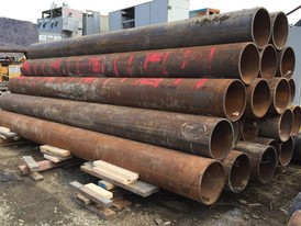 10 in Pipe Piling Cut Offs