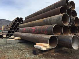 12 in Pipe Piling Cut Offs