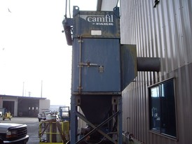 Camfil Farr G26 Dust Collector System