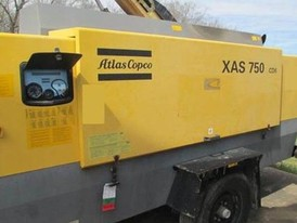 Atlas Copco XAS 750 CD6 Compressor