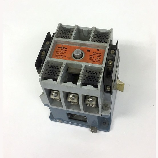 Used Abb Size 3 Motor Starter For Sale