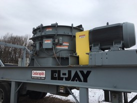 El-Jay 54 Fine Head Roll Cone Crusher