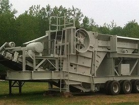 Cedarapids 32 x 42 Jaw Crushing Plant