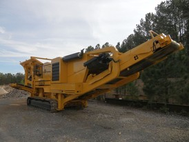 Extec C-12 Mobile Track Mounted Jaw Crushing Plant