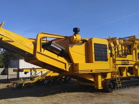 Extec I-C13 Mobile Track Mounted Impact Crushing Plant