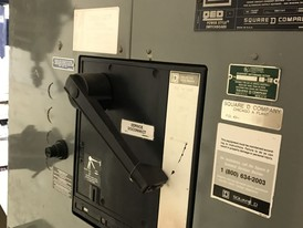 Square D 1600 Amp Breaker Panel