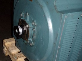 Reliance Electric 700 HP Super RPM D-C Motor with Fan