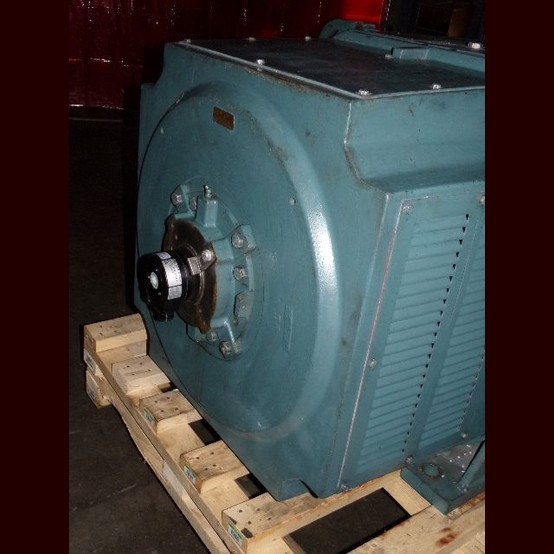 Reliance Electric 700 Hp Super Rpm D C Motor With Fan Id 187167