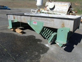 Carrier 48 in. x 138 in. Vibrating Conveyor