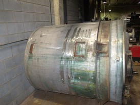 Stainless Steel 800 Gallon Mixing Tank