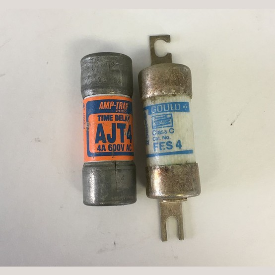 Used Gould 4 Amp Fuse For Sale