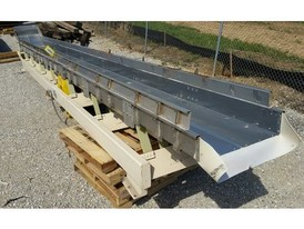 Cardwell 24 in. x 27.58 ft. SS Vibrating Conveyor