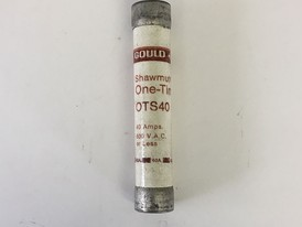 Gould 40 Amp One-Time Fuse