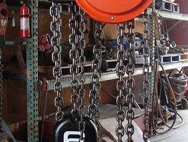 Cyclone 6 Ton Army Hoist