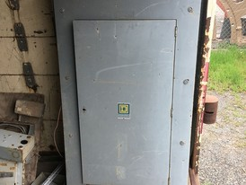Square D 225 Amp 600 Volt Breaker Panel