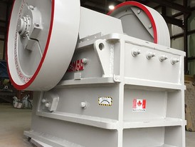 Clemro 15 in x 24 in Jaw Crusher