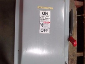 Siemens 200 Amp Heavy Duty Safety Switch (Disconnects)