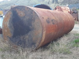 9,000 Gallon Steel Tank
