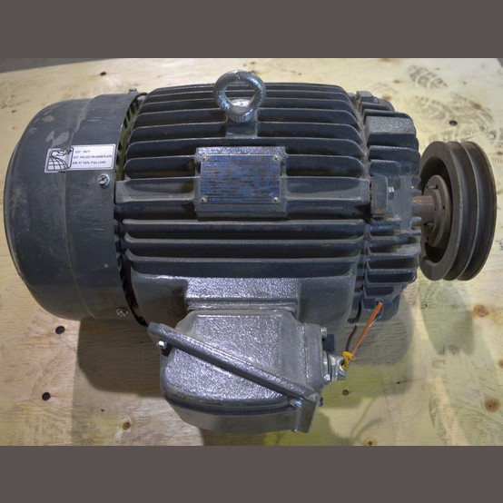 Used Teco Westinghouse 15 Hp Motor For Sale