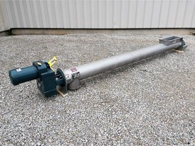 KWS 9 in. x 12 ft. SS Screw Conveyor