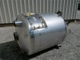 Stainless Steel 65 cu. ft. Oblique Hopper