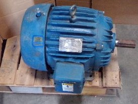 Siemens Premium Efficiency 15 HP Motor