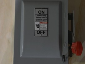 Siemens 30 amp Heavy Duty Safety Switch