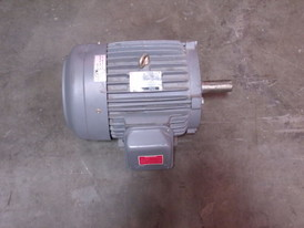 G.E. 7.5 HP Induction Motor