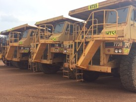 CAT 773B Rock Trucks