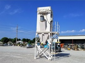 4300 CFM Pulse Jet Dust Collector
