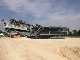 Terex M1700 Track Mounted Wash System