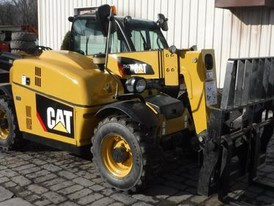 2009 Caterpillar TH255 Zoom Boom