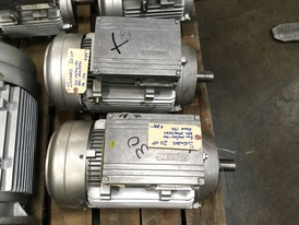 New Siemens 20 HP Techtop Motor